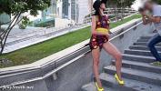 सेक्सी फिल्म वीडियो  Jeny Smith Yellow Heels public flashing
